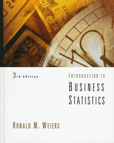 Introduction to Business Statistics: Ronald M. Weiers