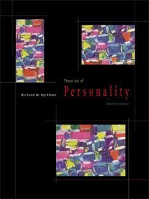 9780534348984: Theories of Personality