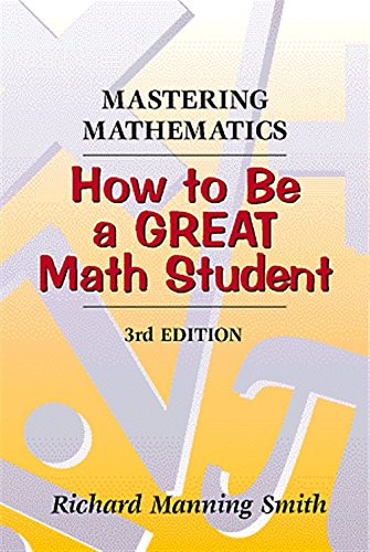 9780534349479: Mastering Mathematics: How to Be a Great Math Student
