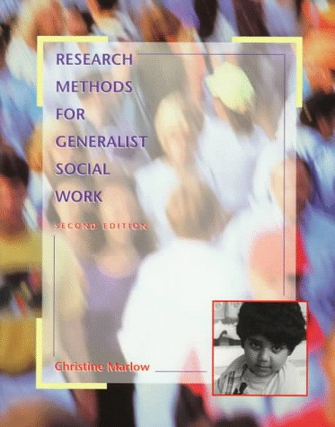9780534349530: Research Methods for Generalist Social Work