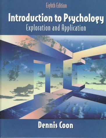 9780534349660: Introduction to Psychology: Exploration and Application (Psychology S)