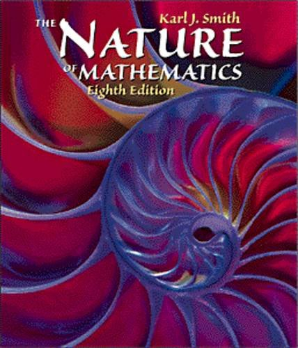9780534349882: Nature of Mathematics