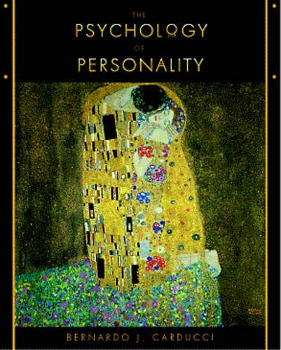 9780534350192: Psychology of Personality