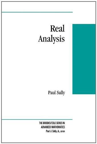 9780534351816: Real Analysis