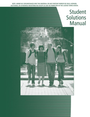 9780534352899: Student Solutions Manual for Dwyer/Gruenwald's Precalculus
