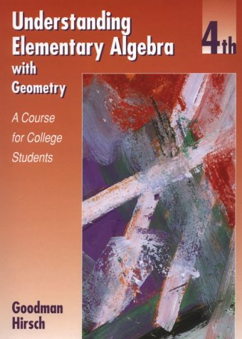 9780534353162: Understanding Elementary Algebra with Geometry: A Course for College Students