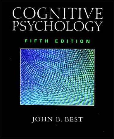 9780534354176: Cognitive Psychology