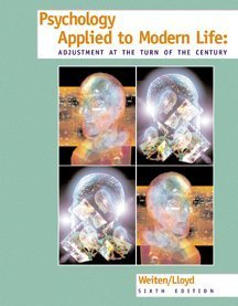9780534355531: Psychology Applied to Modern Life: Adjustment at the Turn of the Century