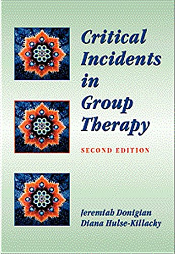 9780534357276: Critical Incidents in Group Therapy (Group Counseling)