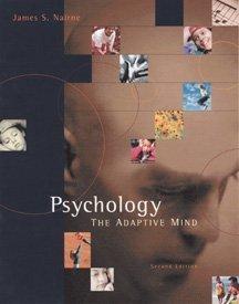 9780534357665: Psychology: The Adaptive Mind
