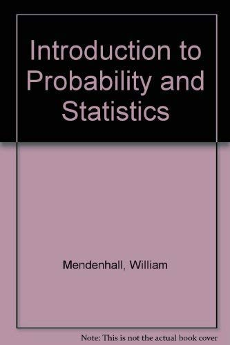 9780534357788: Introduction to Probability and Statistics
