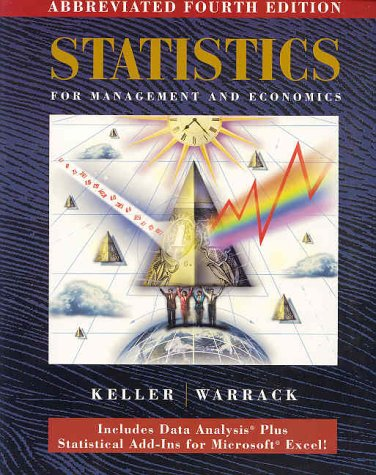 9780534358181: Statistics for Management and Economics: Abbreviated
