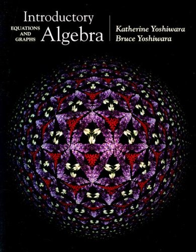 9780534358242: Introductory Algebra: Equations and Graphs (with CD-ROM, BCA/iLrn™ Tutorial, and InfoTrac) (Available Titles CengageNOW)