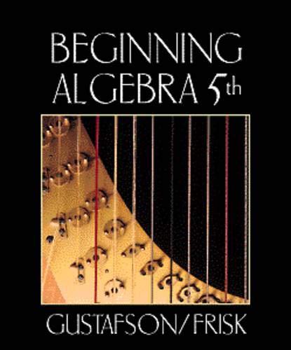 9780534358327: Beginning Algebra