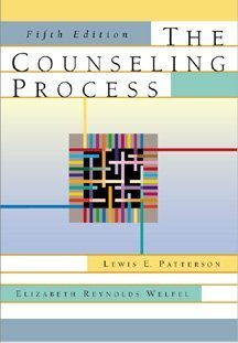 The Counseling Process: Lewis E. Patterson,