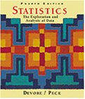 Statistics: The Exploration and Analysis of Data (with CD-ROM) (0534358675) by Devore, Jay L.; Peck, Roxy