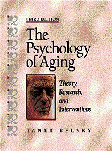 9780534359126: The Psychology of Aging: Theory, Research, and Interventions