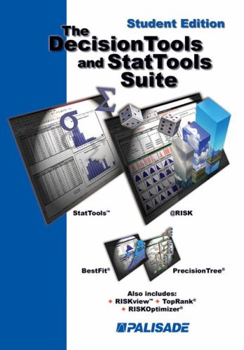 9780534359195: The Decision Tools and StatTools Suite, Student Edition (Software)