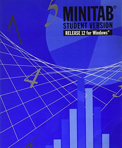 9780534360092: Minitab Student Version 12 for Windows