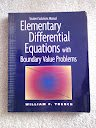 9780534360900: Student Solutions Manual for Trench's Elementary Differential Equations with Boundary Value Problems