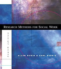 9780534362171: Research Methods for Social Work (with InfoTrac)
