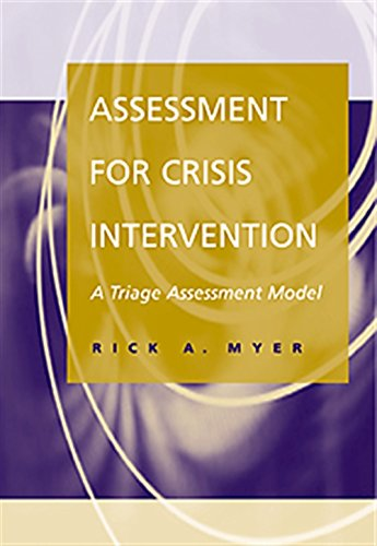 9780534362324: Assessment for Crisis Intervention: A Triage Assessment Model