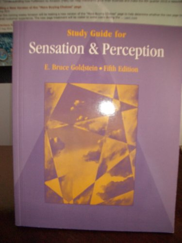 9780534362508: Sensation and Perception
