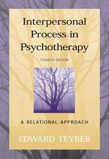 9780534362959: Interpersonal Process in Psychotherapy: A Relational Approach