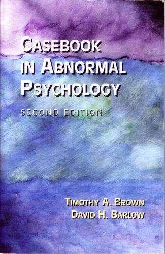 9780534363161: Casebook in Abnormal Psychology: An Integrative Approach