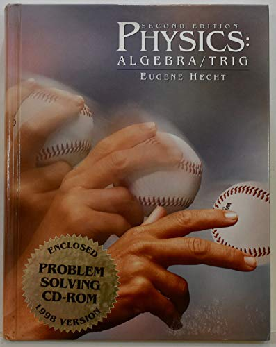 9780534363444: Physics (with InfoTrac): Algebra/Trig