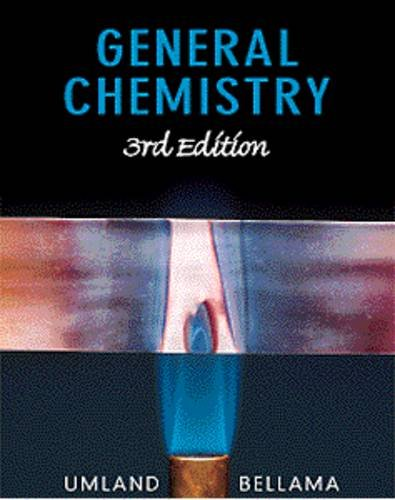 9780534363987: General Chemistry