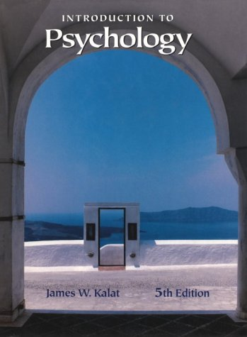 9780534364038: Introduction to Psychology