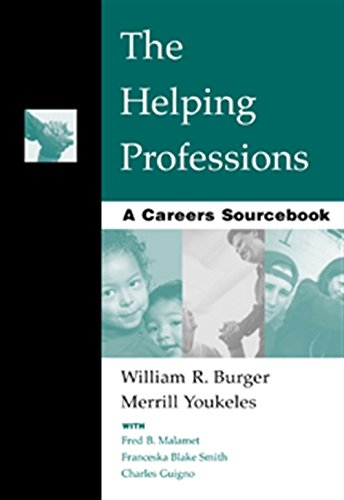The Helping Professions: A Careers Sourcebook 9780534364755 This handy book is a valuable resource for helping readers decide on a career path, this sourcebook provides essential background information on the scope of human services and the essential aspects involved in choosing a career.