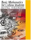 9780534364939: Basic Mathematics for College Students (Available Titles CengageNOW)