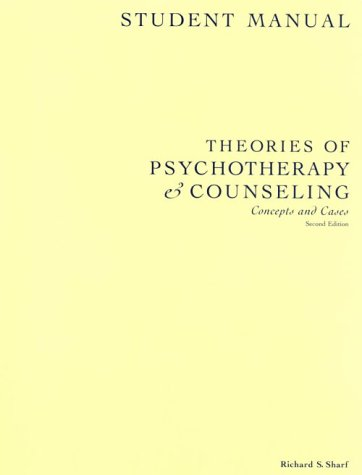 9780534365578: Theories of Psychotherapy and Counseling: Concepts and Cases; Student Manual