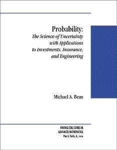 9780534366032: Probability: The Science of Uncertainty with Applications to Investments, Insurance, and Engineering