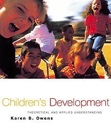 9780534366186: Child and Adolescent Development: An Integrated Approach (with InfoTrac)