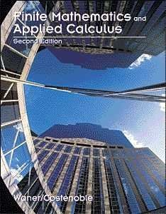 9780534366308: Finite Mathematics and Applied Calculus