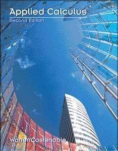 9780534366315: Applied Calculus (Waner, Stefan, Finite Mathematics & Calculus Applied to the Real World.)