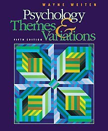 9780534367145: Psychology: Themes & Variations with Infotrac