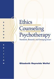9780534367527: Ethics in Counseling and Psychotherapy: Standards, Research, and Emerging Issues