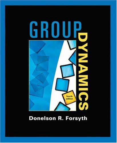 9780534368227: Group Dynamics