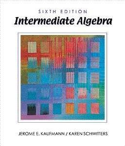 9780534368265: Intermediate Algebra (Available Titles CengageNOW)