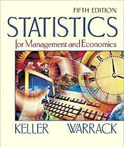 9780534368302: Statistics for Management and Economics