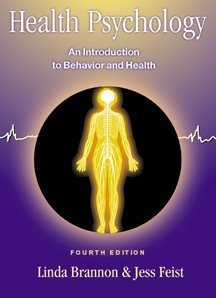 9780534368500: Health Psychology: An Introduction to Behavior and Health, Fourth Edition