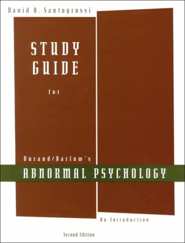 Abnormal Psychology : An Introduction: David H. Barlow;