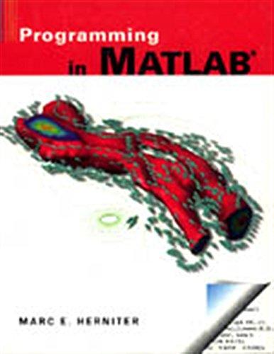 9780534368807: Programming in MATLAB (R)