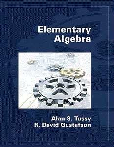 9780534368821: Elementary Algebra (Hardcover) (Available Titles CengageNOW)