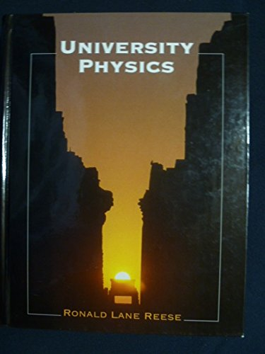 9780534369620: University Physics