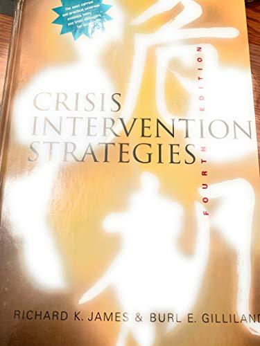 9780534370435: Crisis Intervention Strategies (Fourth Editon)